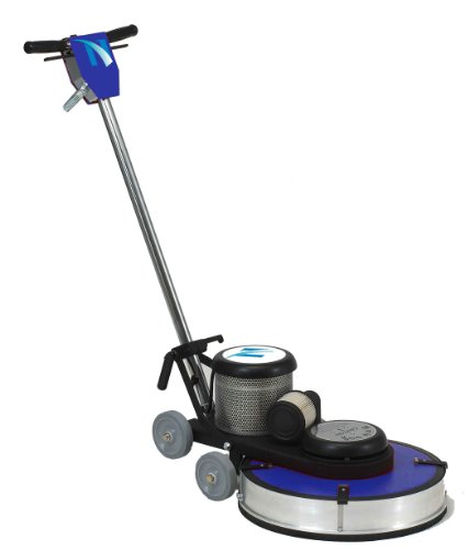 """Nacecare Na1520Dc Heavy Duty Steel High Speed Dust Control Floor Burnisher, 20"""" Brush, 1500 Rpm, 1.5Hp, 50' Power Cord Length front-270505"""