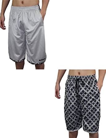 And1 Mens Reversible Dri-Fit Mesh Basketball Sport Shorts by AND1