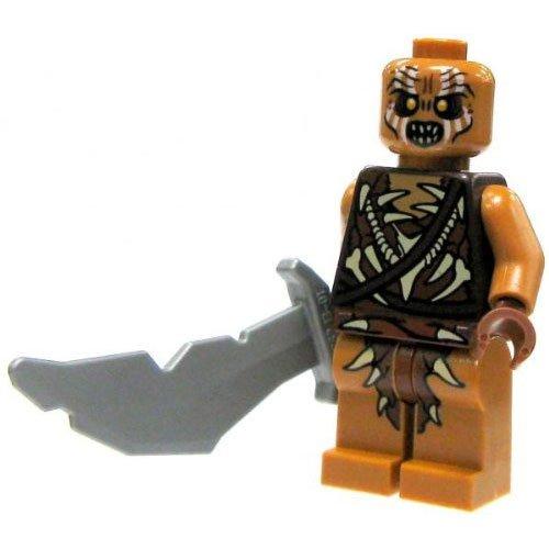 LEGO Hobbit LOOSE Mini Figure Gundabad Orc with Scimitar - 1