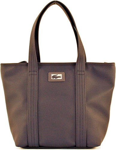 Borsa Shopping Donna Lacoste Bag Woman S Classics Small Sho NF1251WM 245 Coffee Liqueur