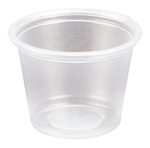Dart Conex Complements Portion/Medicine Cups, 1 oz, Clear, 125/Bag, 20 Bags/Carton