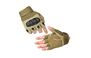 niceEshop(TM) 1 Pair Outdoor Military Bicycle Climbing Half Finger Tactical Gloves from niceeshop
