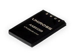 Uniross - Batterie pour Appareil photo numérique Casio NP20 - 3,7V - Li-Ion - 630 mAh