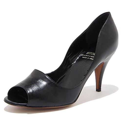 56413 decollete spuntato MOSCHINO CHEAPANDCHIC scarpa donna shoes women [37.5]