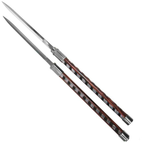 Whetstone Cutlery Set of 2 Twin Blade Baton Short Swords (Blade Staff compare prices)