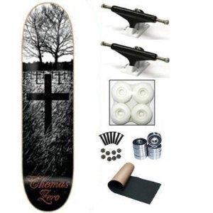 Zero Jamie Thomas Life & Death 8.0 Skateboard Deck Complete