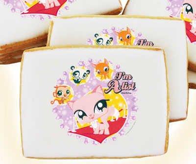 Littlest Pet Shop I'm A-List Cookies 16 pc Gift