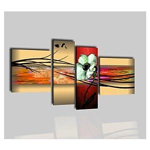 Quadri moderni olio su tela dipinti a mano roslyn amazon for Amazon quadri moderni astratti