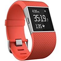 Fitbit Surge Fitness GPS Superwatch (Large in Tangerine)