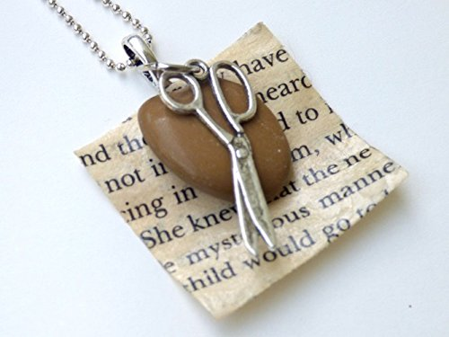 Rock, Paper, Scissors Necklace