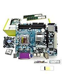 Zebronics Motherboard Kit with 2.4Ghz intel Duel Core CPU, 2GB DDR2 RAM & Intel CPU FAN