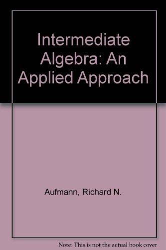 Intermediate Algebra, 2nd Edition
