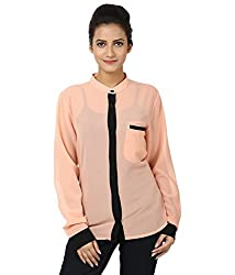 Whistle Casual Full Sleeve Solid Women's Top