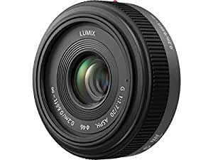 Panasonic LUMIX G 20mm f/1.7 Aspherical Pancake Lens for Micro Four Thirds Interchangeable Lens Cameras (OLD MODEL)