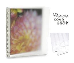 Pina Zangaro MIST Frosted Acrylic Screwpost Portfolio (Deluxe Set - 11\