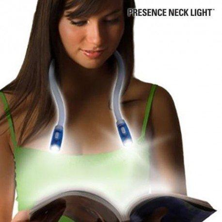 Collare Flessibile Luce di Lettura LED Lavoro Fai da Te