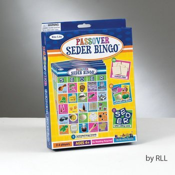 Learn More About Passover Seder Bingo Game