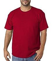 Gildan Heavy Cotton Adult T-Shirt, Antique Cherry Red, XXX-Large