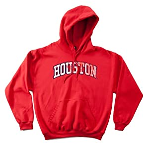 NCAA Houston Cougars 50 50 Blended 8-Ounce Vintage Arch Hooded Sweatshirt, XX-Large,... by SDI