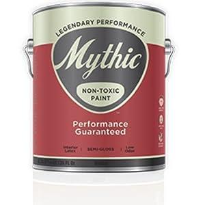 Mythic Non Toxic Paint Semi Gloss Enamel Gallon