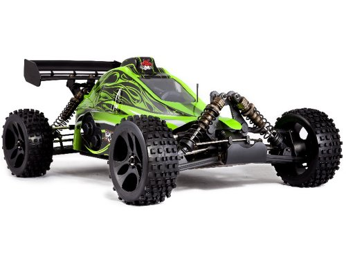 Redcat Racing Rampage XB Gas Buggy, Green, 1/5 Scale (Car Remote Control Gasoline compare prices)