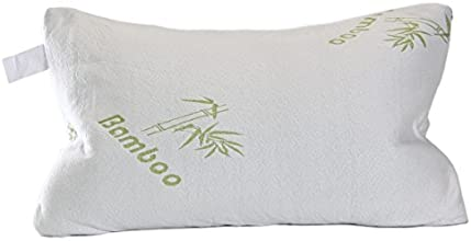 Original Bamboo Pillow with Adaptive Memory Foam for 5-Star Hotel Comfort and 5-Star Sleep, Queen