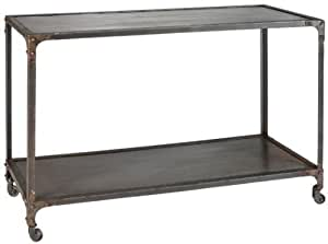 "Industrial Console Table, 31""H, NATURAL"