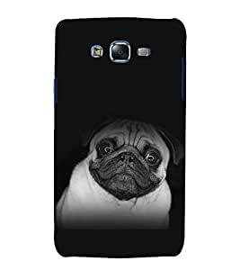 printtech Cute Dog Back Case Cover for Samsung Galaxy A7 / Samsung Galaxy A7 A700F