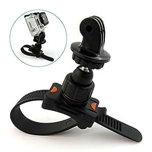 Roll Bar Zip Tie Rollbar Mount For GoPro Mobius actionCam Camera. Bike Handle bar