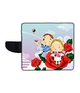 KolorEdge Printed Flip Cover For Lenovo P1 Multicolor - (1479-55KeMLogo10383LenovoP1)