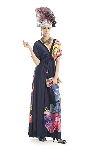Polarfox Women'S Fashion Dresses (Large, Multi-Color)
