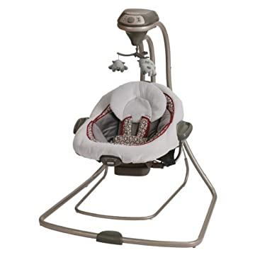 Graco DuetConnect LX Swing   Bouncer, Finley
