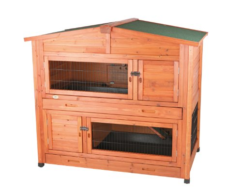 Where to buy 2 story rabbit hutch with attic l julieta for 2 rabbit hutch