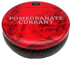 Paddywax Flora & Fauna Pomegranate Currant 3 Wick 12 Oz. Soy Wax Candle