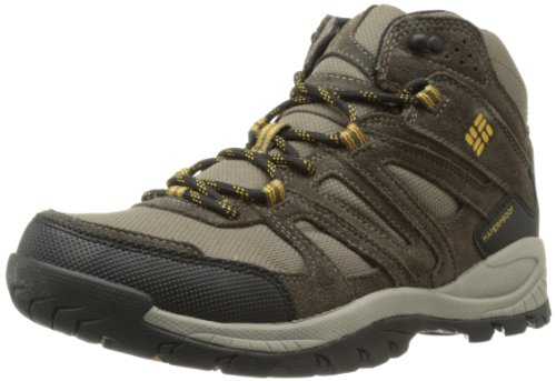 Columbia Men's Big Cedar Waterproof Hiking Boot,Mud/Gallion,7 M US