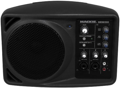 Mackie SRM150 Compact Powered PA system BLACK