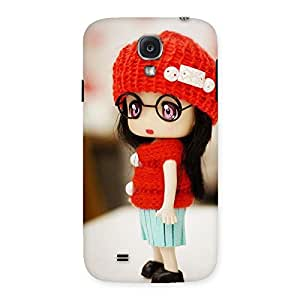 Red Radiant Tiny Little Angel Back Case Cover for Samsung Galaxy S4
