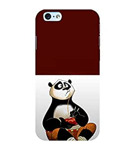 printtech Chinese Panda Cartoon Back Case Cover for Apple iPhone 6