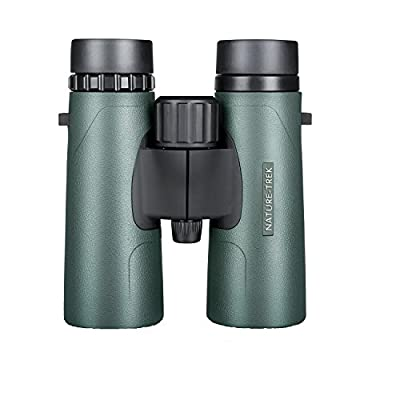 Hawke Sport Optics Nature-Trek Binoculars, Green, Roof Prism, Waterproof/Fogproof from Hawke Sport Optics