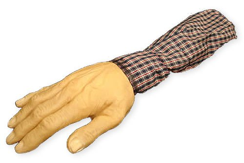 Loftus Ghastly Severed Arm With Sleeve Decoration Prop Beige - 1