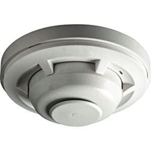 System Sensor 5601P 135 Degree Fixed Temperature Rate-of-Rise, Single-Circuit Mechanical Heat Detector with Plain Housing