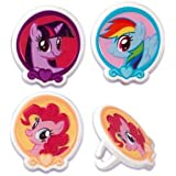 My Little Pony Cupcake Rings - 12 ct