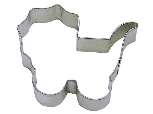 "R&M Baby Carriage 4"" Cookie Cutter In Durable, Economical, Tinplated Steel"