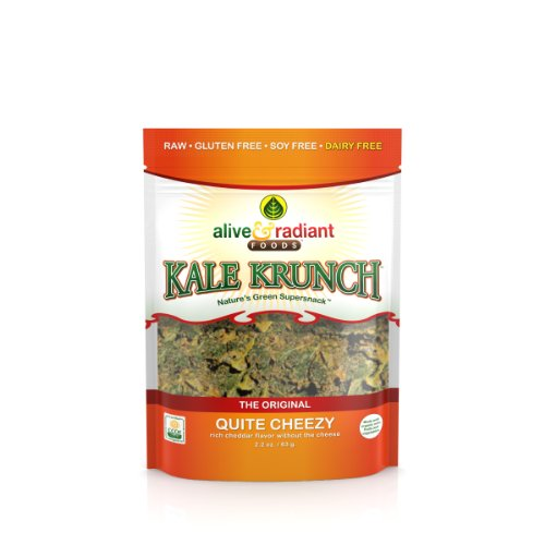 Alive and Radiant Kale Krunch, Quite Cheezy,