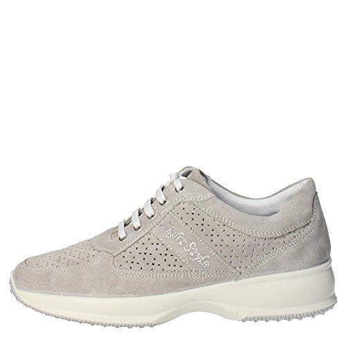 Imac 31641 Sneakers Donna Camoscio Grigio Grigio 38