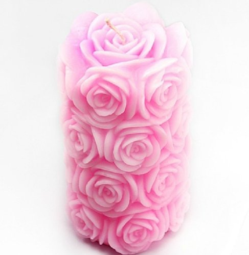 Ball Mold Candle Rose Candle Mold Silicone Soap