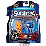 Slugterra Mini Figure 2-Pack Burpy V1 & Joules [Includes Code for Exclusive Game Items] by Slugterra Toys, Games & Dart Mini Action Figures