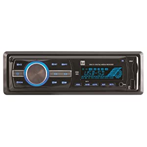 9. Dual XR4115 In-Dash MP3, WMA Mechless Digital Media Receiver with USB, 3.5mm and SD Card Inputs. Precio: $38.32