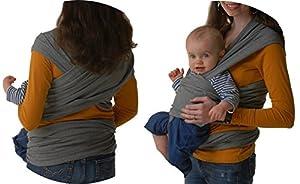 Fular portabebés elastico para llevar al bebé ✮ fulares para hombre y mujer ✮ tonga pañuelo portabebe ajustable ✮ Lleve a su bebe cerca de su corazón de Mipies ® en BebeHogar.com