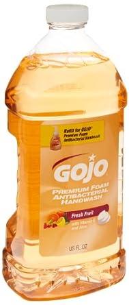GOJO 5720-02 46 Oz. Premium Foam Antibacterial Handwash (Case of 2)